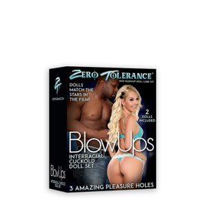 Cuckold opblaaspoppen set met DVD Zero Tolerance