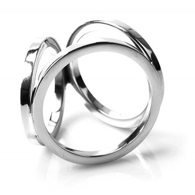 Drie Dubbele Penis Ring