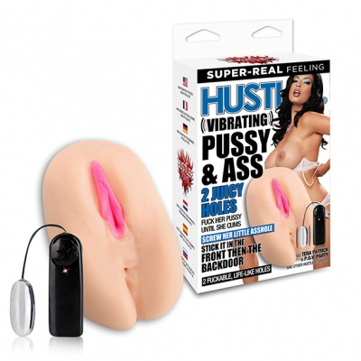 Hustler - Vibrating Pussy and Ass