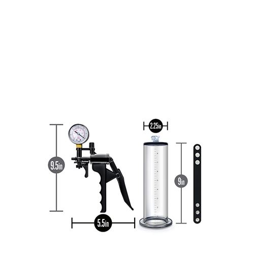 Performance VX8 penispomp met drukmeter