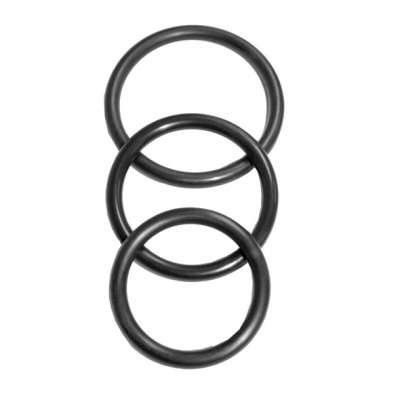 S and M - Nitrile Cock Ring 3 Pack