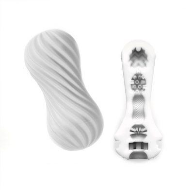 Tenga - Flex Masturbatie Sleeve Silky Wit