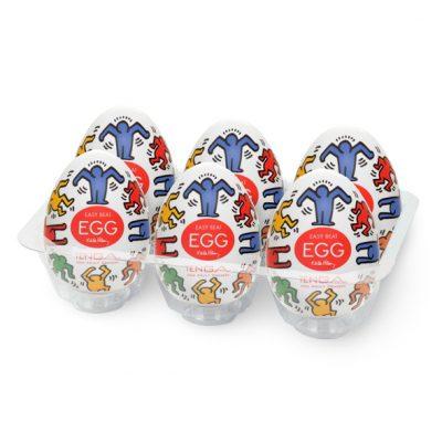 Tenga - Keith Haring Egg Dance (6 Stuks)