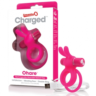 The Screaming O - Charged Ohare Rabbit Vibe Roze